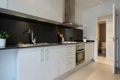 New apartments in a suburb of Barcelona with high quality finishes
